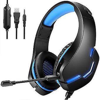 سماعة رأس سلكية، ميكروفون قابل للفصل، مناسب لـ Ps5، Ps4، كمبيوتر شخصي، إكس بوكس، نينتندو سويتش، أجهزة محمولة