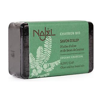 Aleppo soap with organic vegetable charcoal 100 g