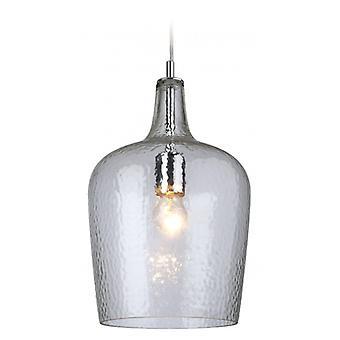 Lámpara Colgante De Vidrio, Vidrio Transparente