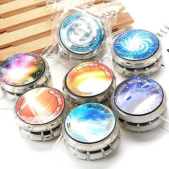 Plastic legering lichtgevende yo-yo led schittering speelgoed (1tm led 1tz led 1hj)