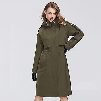 Теплое ветрозащитное пальто