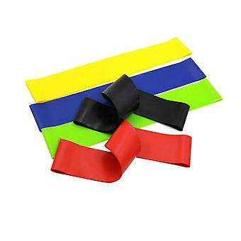 5pcs Yoga Resistance Rubber Bands Fitness Equipment (a)