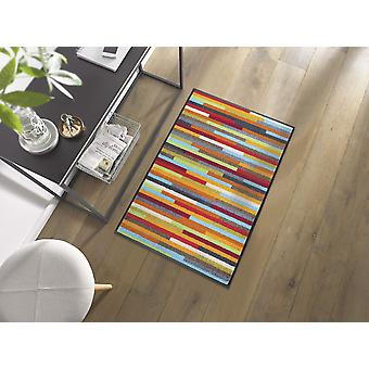 tvätt+torr dörrmatta Mikado Ränder 60 x 85 cm tvättbara