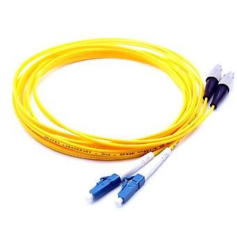 Lc-fc Single Mode Duplexný optický patch kábel