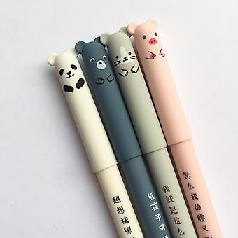 Xiaomi Cartoon Animals Erasable Pen 0.35mm Cute Panda Cat Magic Pen