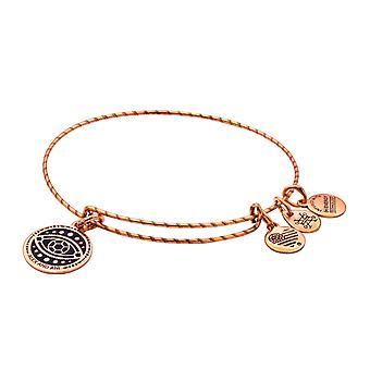 Alex and Ani Evil Eye Double Sided Embossed Charm Bangle Bracelet - Rafaelian Gold