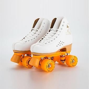 Professional Parenting Two Line Roller Skates Shoes, Double Row, Skating