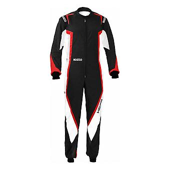 Costume karting Sparco K44 Kerb Noir/Rouge (Taille XL)