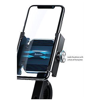 Baseus Knight Soporte para motocicletas Soporte para bicicletas - Adecuado para teléfonos móviles de 4.7 a 6.5 pulgadas