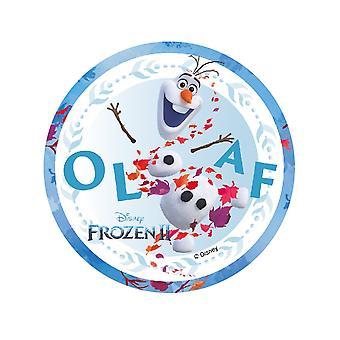 Disque en azyme La Reine des Neiges 2 Olaf 14,5 cm