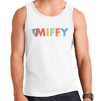 Miffy Färgglad logotyp Herr's Väst