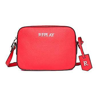 REPLAY FW3075, حقيبة حقيبة نسائية, 260 أحمر الدم, UNIC(2)