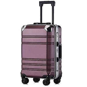 مجموعة الأمتعة عربة جديدة مع حالة ماكياج لطيف حقيبة مستديرة