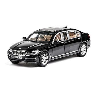 1:24  BMW 760LI Car Model Alloy Car Die Cast Toy Car Model Pull Back Children's Toy Collectibles