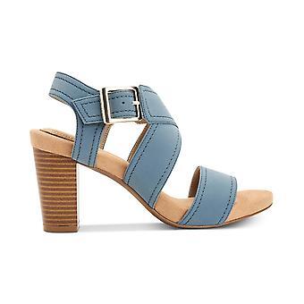 Giani Bernini Womens Janett Memory-Foam Block-Heel Dress Sandals