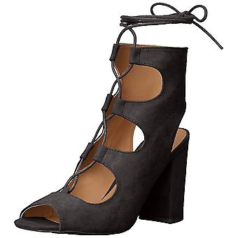 Qupid Womens Chester-11 Peep Toe Casual Ankle Strap Sandals