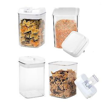 4Pcs clear food storage container set