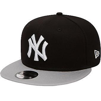 ניו עידן נוער ניו יורק יאנקיז כותנה Snapback 9Fifty כובע - שחור - 6-12 Yrs