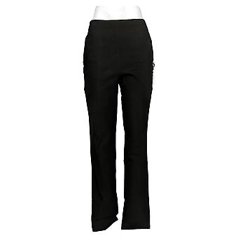 DG2 by Diane Gilman Women's Pants MT Tall ShapeTech Pull-On Slim Black 731928