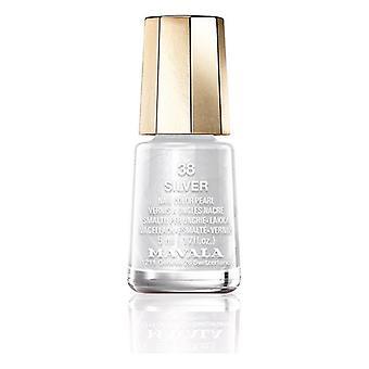Nail polish Nail Color Mavala 38-silver (5 ml)