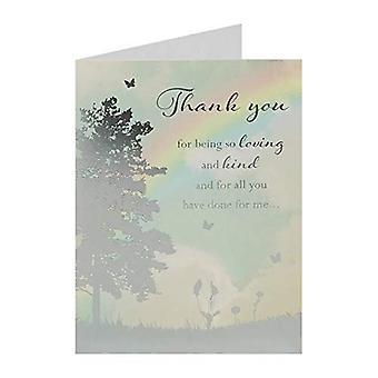 Takkekort - Takk (ett tilfeldig levert)