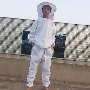 Komfortable Körper schützende Imkerei Anzug Set atmungsaktive Verteidigen Bienen kleidung