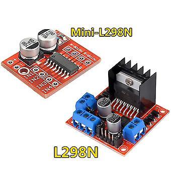 L298n module de carte conducteur l298n moteur pas à pas robot voiture intelligente planche à pain peltier haute puissance l298 dc pilote de moteur pour arduino