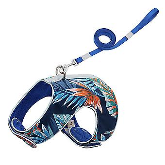 Cat Reflective Leash Walking Traction Rope Chest Strap Anti-break