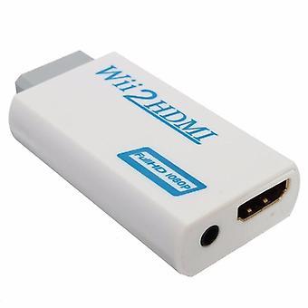 Convertor de upscaling de ieșire Wii la HD cu adaptor audio de 3,5 mm 1080P