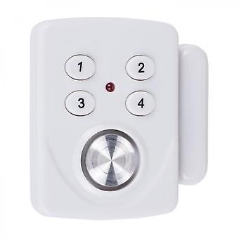 Smartwares Mini alarma Sc33 detector de apertura para la puerta y la ventana con el teclado de código