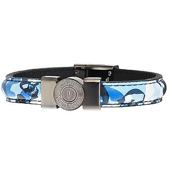 Police jewels shooter men's bracelet blue large pj.25556blu_03-l