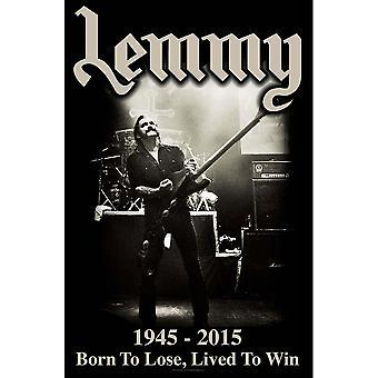 Lemmy - Viveu para Ganhar Pôster