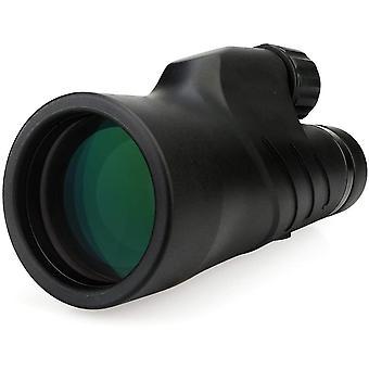 Svbony SV45 Monocular 10x50 HD High Power Waterproof Fog Free Monocular FMC BAK-4 Prism Monocular Telescope for Bird Watching Hunting Camping Travelling Wildlife Secenery,(nero)