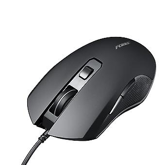 Wired gaming mouse 6button 3200dpi led usb computer mouse gamer silent optical mice with backlight for pc laptop notebook