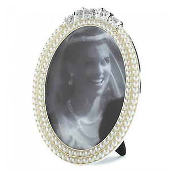 Accent Plus Strands of Pearls Picture Frame - 5x7, Pack of 1