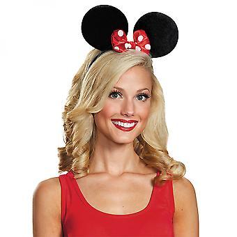 Disney Minnie Mus Deluxe Ører & Bow Hodebånd