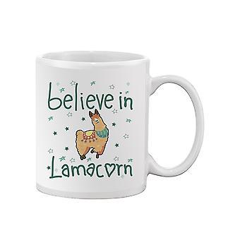 Believe In Llamacorn Mug -SPIdeals Designs