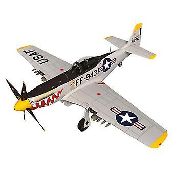45cm P 51D Mustang Stíhací letoun Bomber verze Aircraft Paper Model Assemble