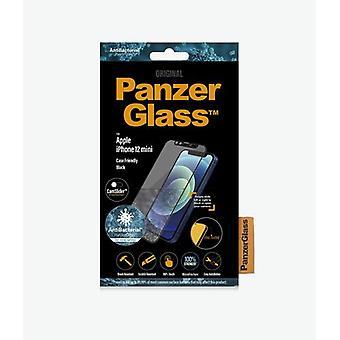 PanzerGlass 2713, Transparent Screen Protector, Apple, iPhone 12 mini, Scratch resistant, A