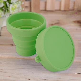 Portable Silicone Telescopic Drinking Collapsible Folding Cup Travel Camping