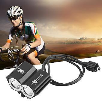 5000 Lumens 2x Xm-l U2 Led Cycling Bike Bicycle Light Headlamp Headlight