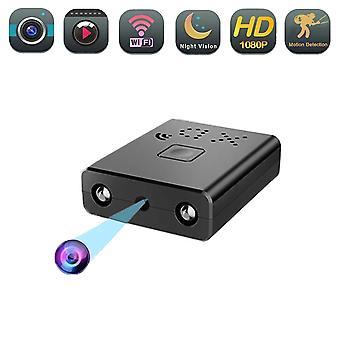 ミニ無線LANカメラ4kホームセキュリティカムコーダーナイトレコーダーナイトビジョンマイクロ秘密の動き検出ビデオ音声レコーダー
