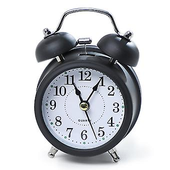 Alarm Clock Digital Alarm Clock Digital Metal Bell Student With Small Alarm Clock (black
