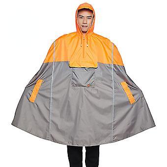 Qian-hooded Rain Poncho, Cycling Raincoat, Adult Rain Cover, Multi-function