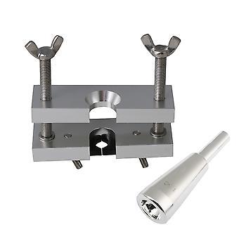 Dissolvants d'embout buccal en métal avec embout buccal de trompette de taille sliver 1.5C