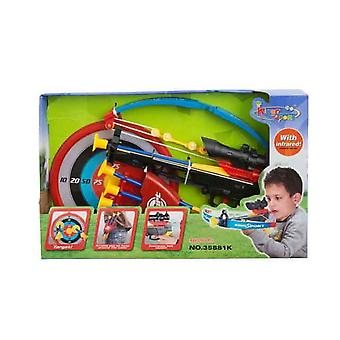 Dzieci zabawki prezent Cross Bow łucznictwo zestaw z Infra Red zakres dokładny cel
