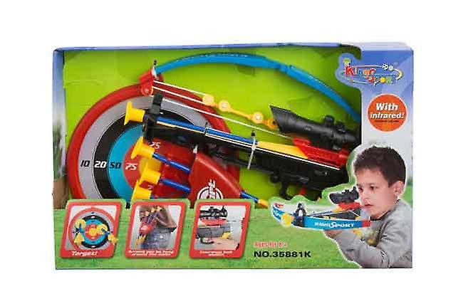 Children Gift Toy Cross Bow Archery Set With Infra Red Scope for Accurate Aim