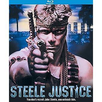 Importación de Steele justicia (1987) [Blu-ray] Estados Unidos