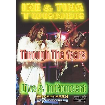 Turner, Ike & Tina - Through the Years [DVD] USA import