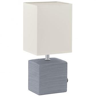 Eglo MATARO kostka ceramiczna lampa stołowa